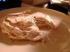 Low-Carb, No Sugar, Atkins Induction Friendly, Crepe Cake.    1 egg, 1/8c heavy cream, cinnamon, vanilla oil, 1.5tsp almond butter, 2tsp cream cheese.