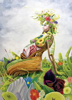 BK The Artist official website. Paintings and drawings by New York Artist Brian . Tree Of Life Artwork, Birth Art, Pregnancy Art, Mother Art, Goddess Art, Female Art, Painting & Drawing, Fantasy Art, Art Drawings