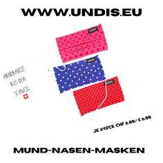Bei UNDIS www.undis.eu gibt es jetzt auch MUND-NASEN-MASKEN im Partnerlook für Erwachsene und Kinder. Je Stück CHF 6,00 / € 6,00 (Versandkosten sind im Preis inkludiert) #undis #maskeauf #behelfsmaske #mundnasenmaske #mundmaske #gesichtsmaske #nähen #kreativ #bunt #maske #corona #virus #maske #mundnasenschutz #deutschland #schweiz #österreich #maske #kinder #eltern #diy #partnerlook #bunt #gesundheit #mundnasemaske Bunt, Corona, Funny Underwear, Kids, Men's Boxer Briefs, Switzerland, Parents, Masks, Germany