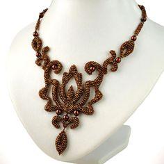 Olga Arsentieva. Curly Bead Jewelry Step 19