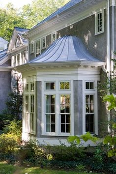 how to build a bay window roof