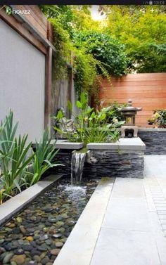 35 Beautiful Mini Zen Garden Design Ideas A zen garden may al. Ponds Backyard, Small Backyard Landscaping, Backyard Pergola, Landscaping Ideas, Backyard Fireplace, Outdoor Fireplaces, Small Patio, Backyard Planters, Nice Backyard