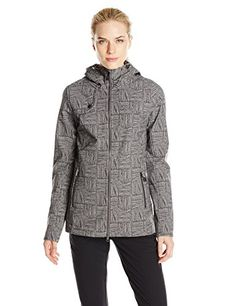 LOLE Womens Stunning Jacket Dark Charcoal Corn Field Medium -- Continue to the product at the image link.