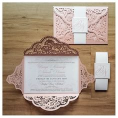 bespoke wedding invitation design for an umabo wedding lasercut