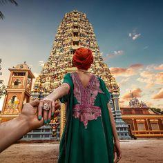 #followmeto the Aluvihara temple in Sri Lanka