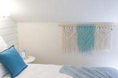 slow design csomózott dekoráció étterembe, panzióba, szállodába Coastal Bedrooms, Tapestry, Colours, Wall, Decoration, Home Decor, Blue, Hanging Tapestry, Decor