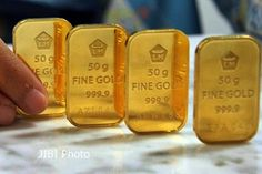 Awal Tahun 2017 Harga Emas Dunia Naik Tapi Tetapi Emas Antam Menurun.