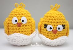 Crochet Baby Chick - Repeat Crafter Me