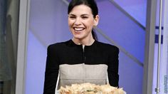 Julianna Margulies' Potluck Recipes – Katie Couric I really want to try the eggplant dip.
