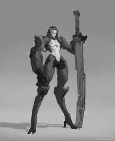 Scifi-ish sketches 2014-2016, Aleksey Kovalenko on ArtStation at https://www.artstation.com/artwork/vxr1Y