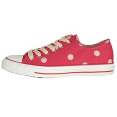 Team these fun Spot plimsolls with denim to brighten up any outfit, or wear with a dress for a comfortable, casual look.