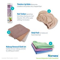 Norwex images for online marketing and online sales events.