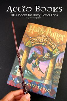 So many great books for Harry Potter fans