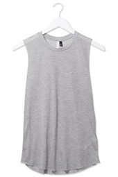 Raw Edge Jersey Tank Top by Boutique