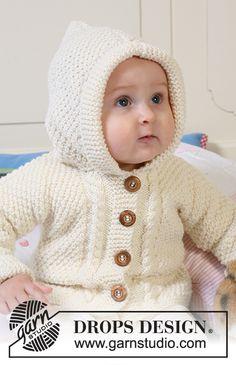 Baby Knitting Patterns, Free Baby Blanket Patterns, Baby Sweater Patterns, Baby Cardigan Knitting Pattern, Knit Baby Sweaters, Knitted Baby Clothes, Knitting For Kids, Baby Patterns, Free Knitting
