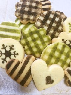 可愛い♥ステンシル型抜きクッキー