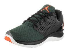 5a5f62d42dc Nike Jordan Men s Jordan Trainer St Winter Black Bright Mango Grove Green Training  Shoe 8.5 Men US