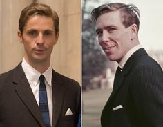 Netflix's The Crown and the Royal Family: How much do the actors; Claire Foy, Matt Smith & Vanessa Kirby look like the real Royal Family. The Crown Season 1, Netflix Programmes, Crown Show, The Crown Series, Crown Netflix, Mathew Goode, Victoria Prince, British Actors, American Actors