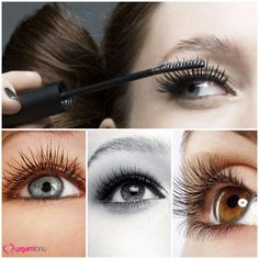 Uzun ve Hacimi Doğal Kirpikler #eyelash #long #volume #curler #naturel #makeup