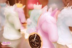 unicorn candles <3