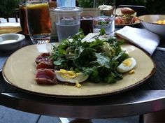 Salad nicoise from Pierrot Gourmet