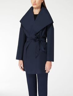 Cappotto in twill antigoccia, Max Mara euro 255,00.C'FACTOR SALE 2015