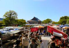 Kyoto Flea Market at Toji Temple