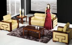 Enjoy Some Beautiful Sets of Office Sofas - MelodyHome.com Office Sofa, Office Furniture, Living Room Designs, Sofas, Room Ideas, Design Ideas, Pictures, Beautiful, Home