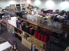 FWR started 5 years ago with only 25,000 sq ft of inventory. Since then we have doubled in size and facilitate national jobs from our headquarters here in Las Vegas. Here's a picture from our first warehouse, but click here to see our inventory that has grown over 300%: http://www.fwrental.com