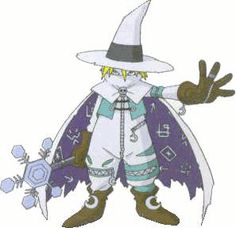 Sorcermon - Champion level Demon digimon