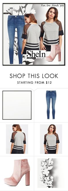 """""""T-shirt shein"""" by kukic-zerina ❤ liked on Polyvore featuring By Lassen, 3x1, Charlotte Russe, Élitis and Bobbi Brown Cosmetics"""