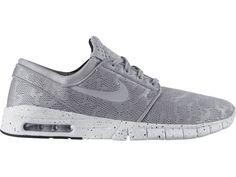 Nike SB Stefan Janoski Max Skateboarding Shoes Mens 12 Wolf Grey 631303 001 #Nike #Skateboarding