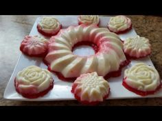 Turkish Delight Dessert recipe by Najiya posted on 21 Jan 2017 . Recipe has a rating of by 1 members and the recipe belongs in the Desserts, Sweet Meats recipes category Sweet Meat Recipe, Turkish Delight, Food Categories, Dessert Recipes, Desserts, Eid, Doughnut, Good Food, Coconut