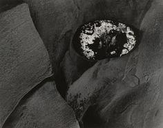 Minor White. Rock in Sandstone. 1959