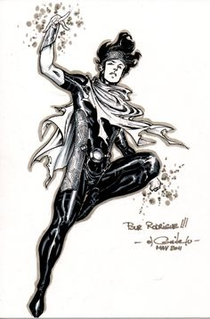 Asguardian, also called Wiccan, the son of The Scarlet Witch.