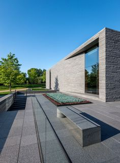 Room Lakewood Cemetery's Garden Mausoleum Design by HGA Architects Decorating Pictures