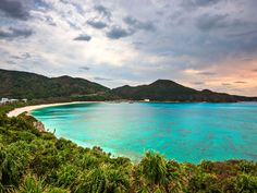 On Japan's southern islands of Okinawa Prefecture, picturesque white-sand beaches draw locals year-round.
