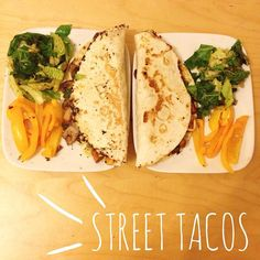These were AMAZING!! I even got my other half in on the action  WW tortillas stuffed with garlic & chilli mushrooms onion sweet potato and spinach with roasted peppers and salt & pepper cabbage  absolute heaven!!