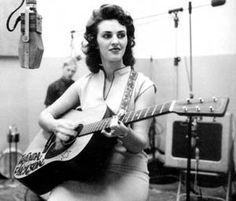 wanda jackson at the recording studio