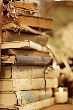 """""""I have always imagined that paradise will be a kind of library.""""    — Jorge Luis Borges  Me too!"""