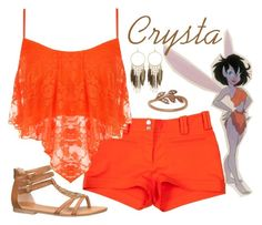 """""""Crysta"""" by violetvd ❤ liked on Polyvore featuring Versace, WearAll, Panacea, maurices and Lord & Taylor"""