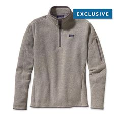Patagonia Women's Better Sweater™ 1/4-Zip Fleece Pullover, Size small