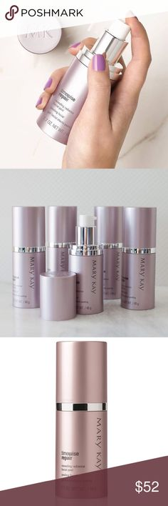 Mary Kay TimeWise Repair Facial Peel Thanks to the power of glycolic acid, skin's own natural renewal process is enhanced as younger-looking, more radiant skin is revealed. Skin looks brighter, skin texture is significantly improved, fine lines and wrinkles look reduced, skin tone looks more even. Mary Kay Makeup