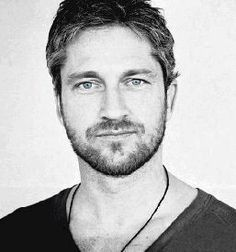 """Gerard Butler, just because of """"P.S. I Love You"""". I love that movie."""