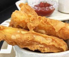 Batata frita supercrocante com creme de alho | 11 receitas de batata frita que mostram que a vida pode ser maravilhosa