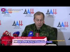 War in Ukraine / Briefing about Current situation in Donbass
