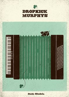 Dropkick Murphys by David Ryski - check out his other great work here.