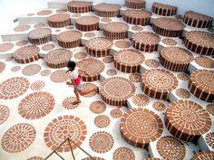 Auroville Amphitheatre. India