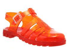 JuJu Maxi Low Juju Jelly Burnt Amber - Sandals