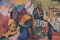 The Elephant (1908) I have always loved Kandinsky